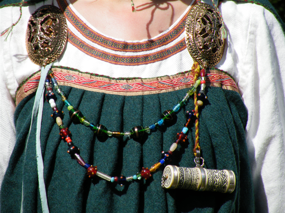 Reconstructed Viking Woman s Outfit